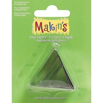 Makin's Clay Cutters 3 Pkg Triangle M360 3