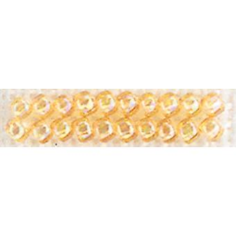 Mill Hill Glass Seed Beads Economy Pack 9.08 Grams Pkg Crystal Honey Gbec 22019