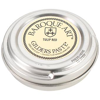 Baroque Art Gilders Paste 1.5 Ounces Tulip Red Gp Tr27