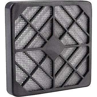 Fan grille with built-in filter (W x H) 8 cm x 8 cm Wallair KU KF 80