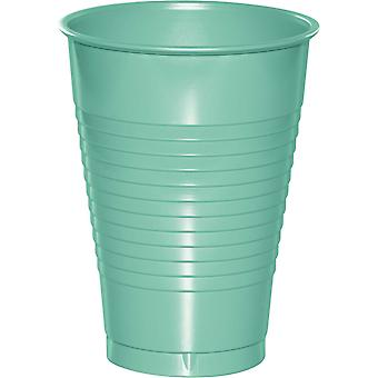 Plastic Cups 12oz 20/Pkg-Fresh Mint PC-18882