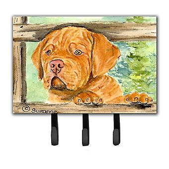 Dogue de Bordeaux Leash Holder or Key Hook