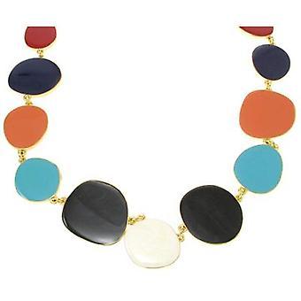 Kenneth Jay Lane Multi Enamel Necklace