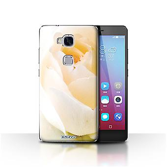 STUFF4 Case/Cover for Huawei Honor 5X/GR5/Soft Rose/Floral Garden Flowers