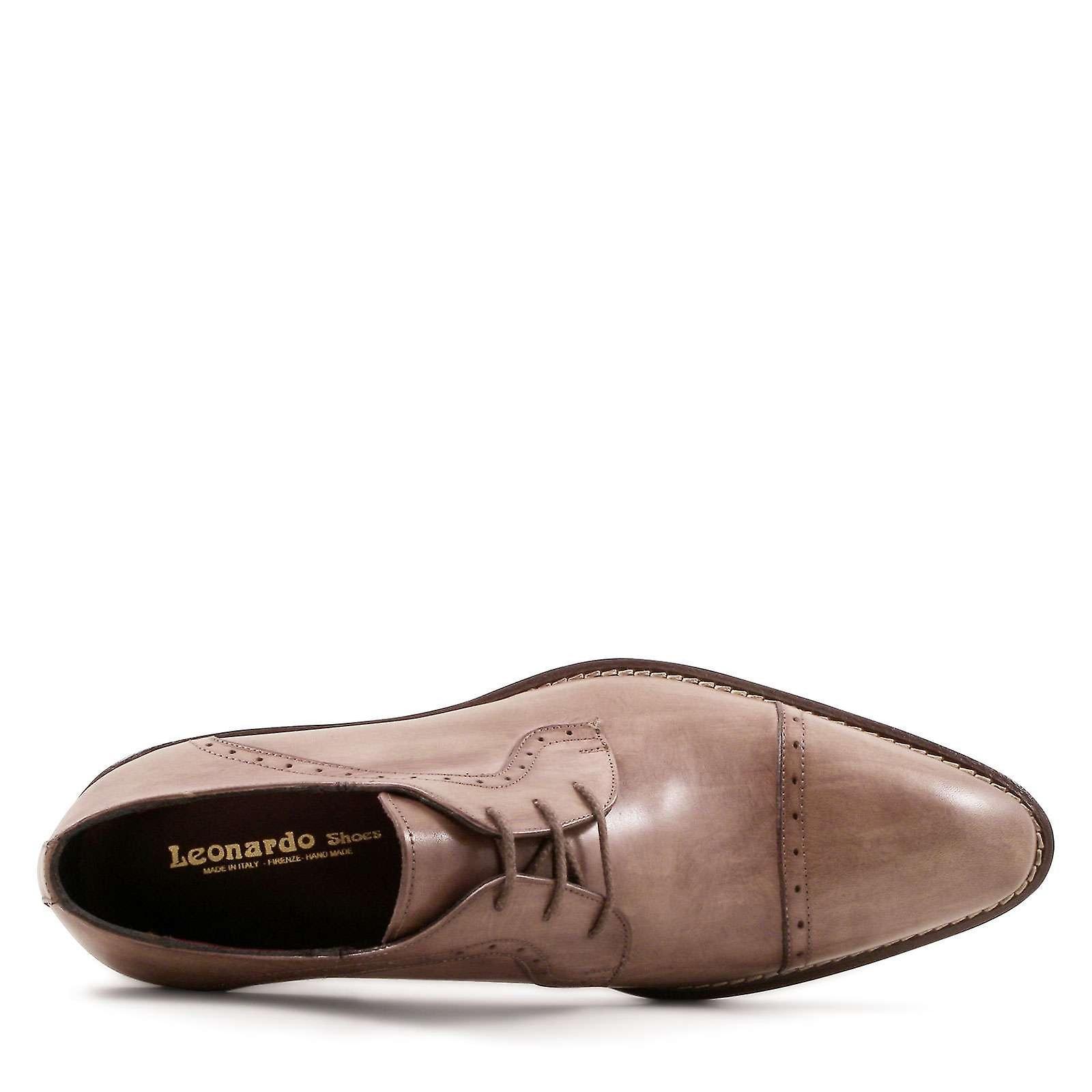 ac8bc127ecd ... Handmade Handmade Handmade semi brogues derby shoes for men 157842 ...