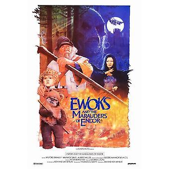 Ewoks The Battle for Endor Movie Poster Print (27 x 40)