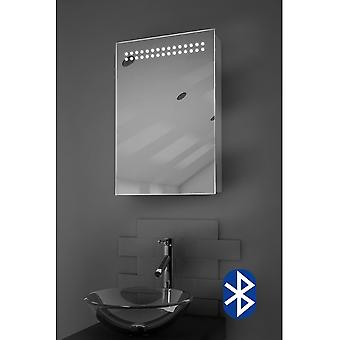 Audio Bathroom Cabinet With Bluetooth, Shaver Socket & Sensor k255Aud