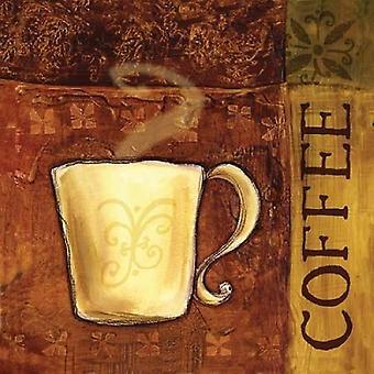 Coffee Break II Poster Print by BJ Lantz