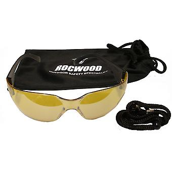 SAFETY GLASSES ROCWOOD- YELLOW