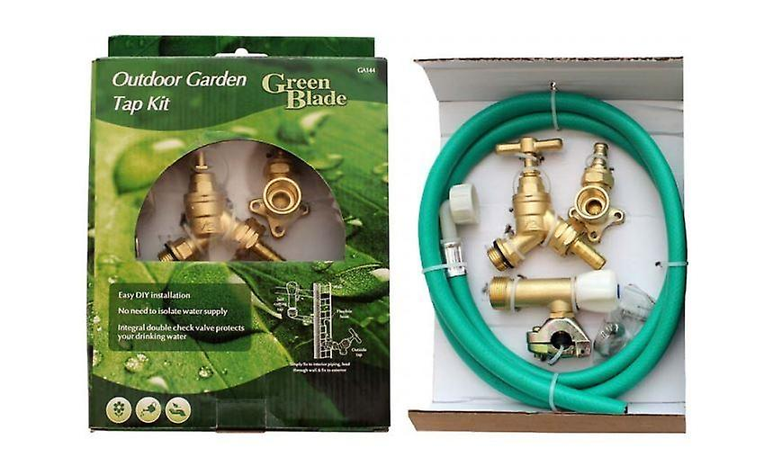 Outdoor Garden Tap Kit Outside Water Hose Connector