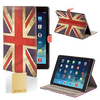Design Book Angle Stand Folio Case for Apple iPad Mini 4 (4th Gen) - Union Jack