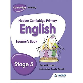 Hodder Cambridge Primary English: Student Book Stage 5 (Paperback) by Basden Anne