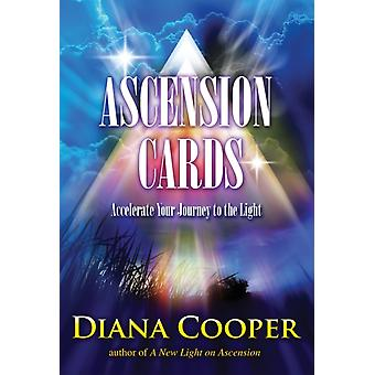 Ascension Cards: Accelerate Your Journey to the Light: 80pp book and 52 Full Colour Cards (Cards) by Cooper Diana