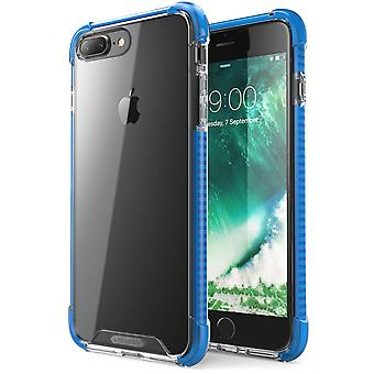 i-Blason-iPhone 7 Plus Case-Shockproof Protective Case-Blue