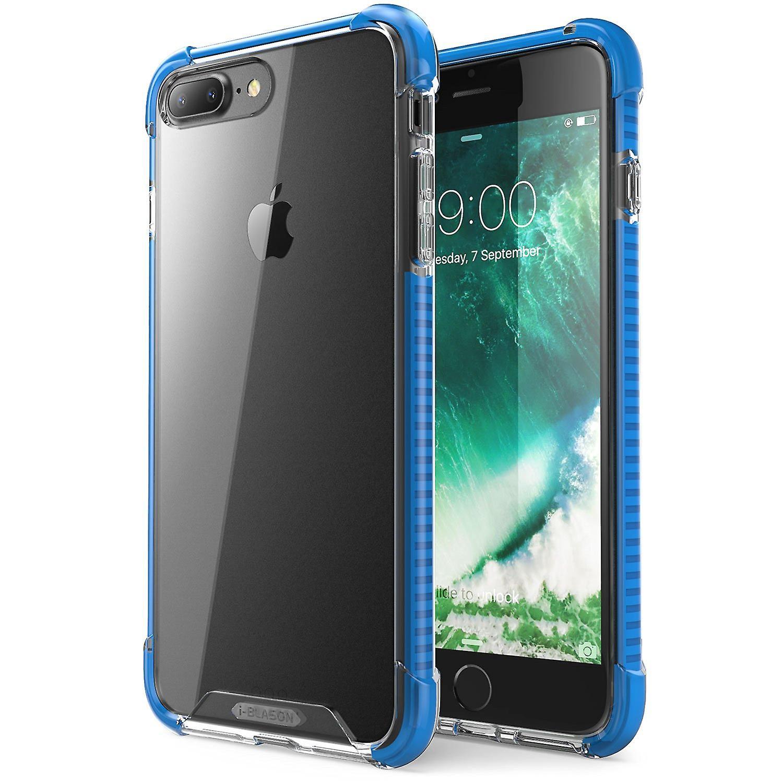 i-Blason-iPhone 7 Plus Case-Shockproof Protective Case-Blue