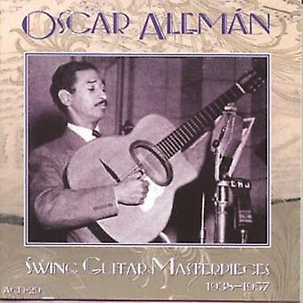 Oscar Aleman - Swing Guitar mesterværker [CD] USA import
