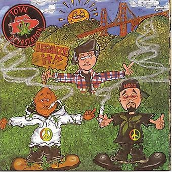 Total ødelæggelse - legalisere det! [CD] USA import