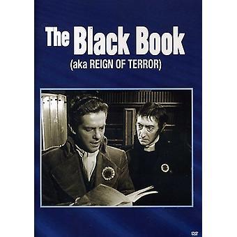 Black Book (Aka Reign of Terror) [DVD] USA import