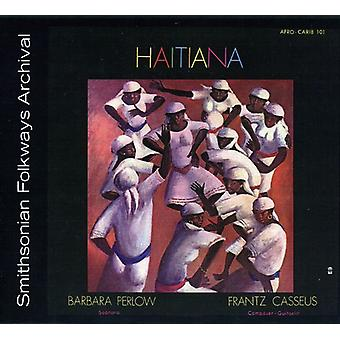 Frantz Cassus & Barbara Perlow - Haitiana [CD] USA import