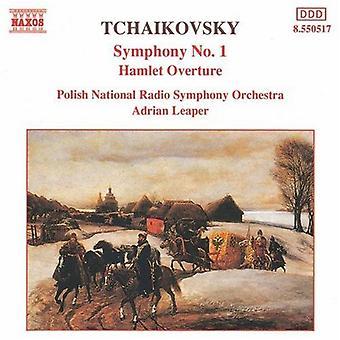 P.I. Tjajkovskij - Tjajkovskij: Symfoni nr 1; Hamlet Overture [CD] USA import