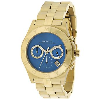 Marc by Marc Jacobs lama dorata Chronograph Ladies Watch MBM3307