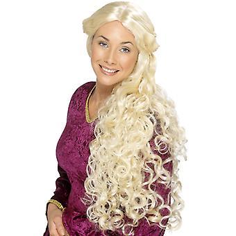 Medieval peasant Princess Loreley wig blonde