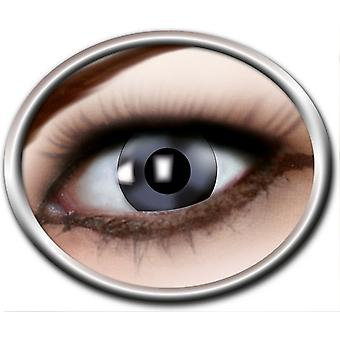 Contact lenses reflecting silver 1 pair Carnival Halloween