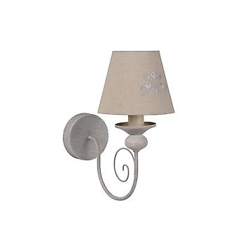 Lucide ROBIN Wall Light E14 H31 L28 W15cm Taupe