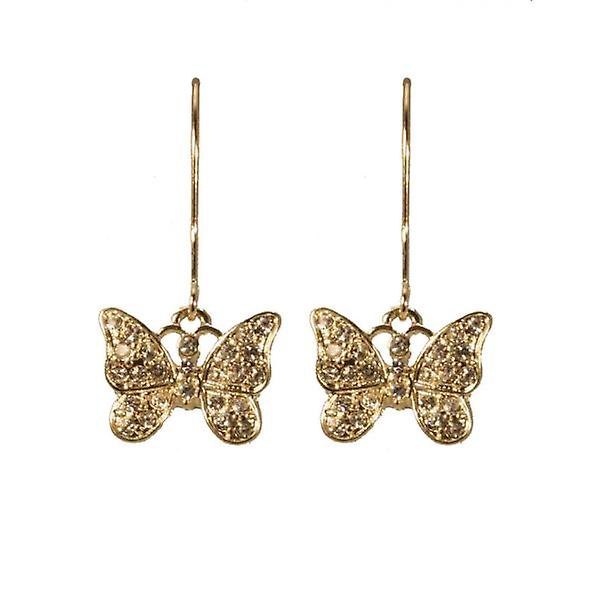 W.A.T Sanctuary Butterfly Shaped Drop Fashion Earrings