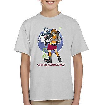 Ghostbusters Scooby-Doo die Doo u bellen Mash-Up Kid's T-Shirt