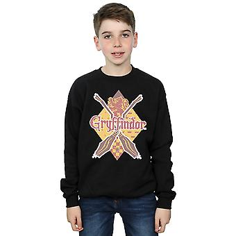 Harry Potter Boys Gryffindor Lozenge Sweatshirt