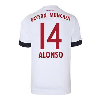 2015-16 Bayern Munich Away Shirt (Alonso 14)
