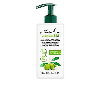 Naturalium Oliva 100% Hand, Foot & Body Cream 300 Ml Unisex