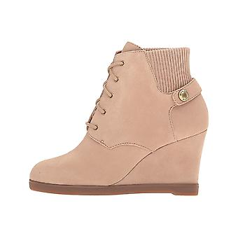 MICHAEL Michael Kors Womens Carrigan Wedge Leather Closed Toe Ankle Fashion B...