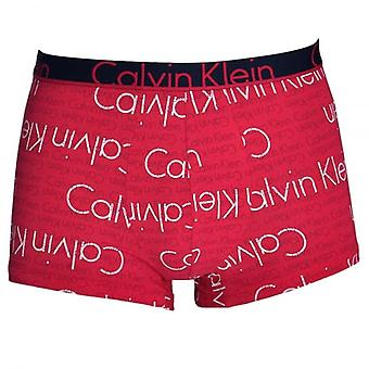 Calvin Klein ID Cotton Trunk, Dual Layered Logo Print Empower, X-Large