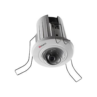 HiWatch 2MP dome network camera, 1080 p, 2.8 mm lens, PoE, white