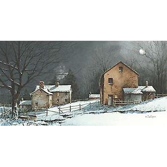Silent Night Poster Print by John Rossini (16 x 8)