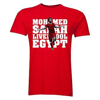 Camiseta de jogador de Liverpool Mohamed Salah (vermelho) - crianças