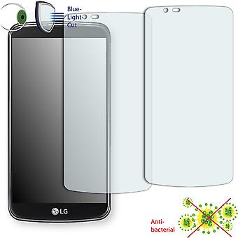LG K10 display protector - Disagu ClearScreen protector (deliberately smaller than the display, as this is arched)
