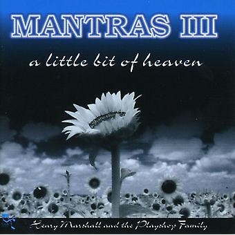 Henry Marshall & Playshop familie - mantraer III-Little Bit af HEA [CD] USA import