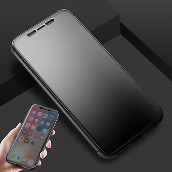 Oprindelige ROCK skygge smart cover sort pose dækning case for Apple iPhone X / 10 5.8 tommer