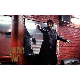 Carlitos Way - Gun Poster Poster Print