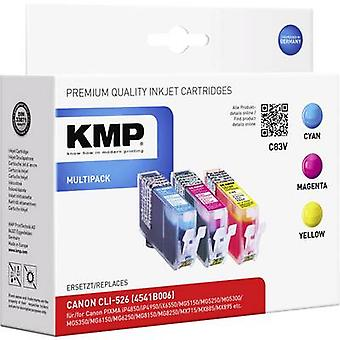KMP Ink replaced Canon CLI-526 Compatible Set Cyan