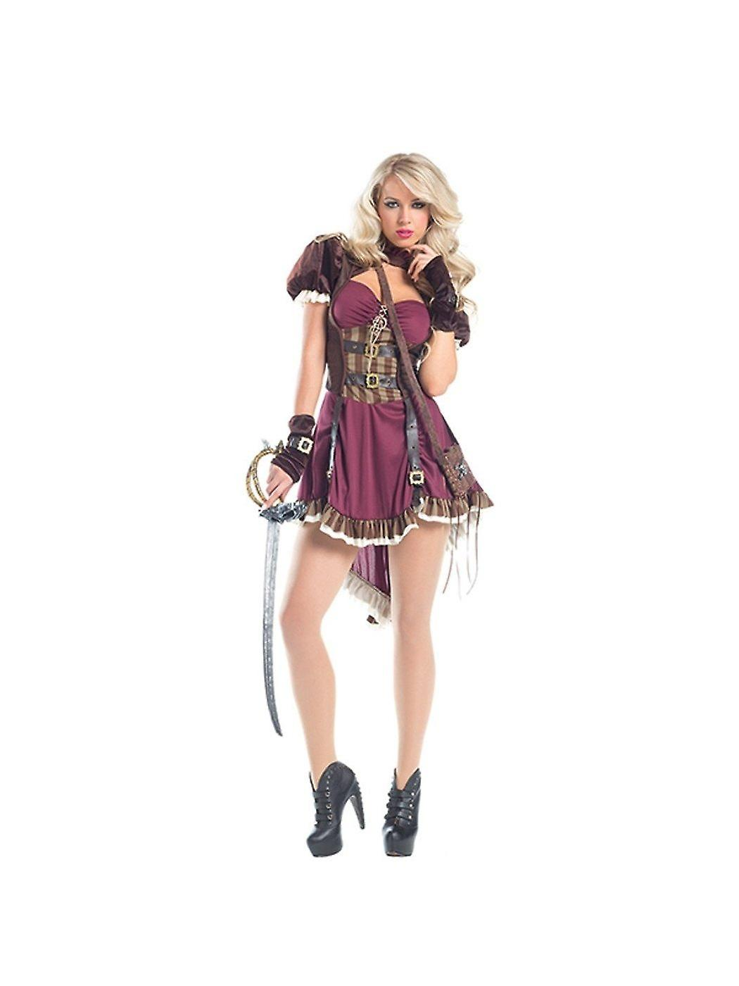 Be Wicked BW1549 2 piece Steam Punk Pirate