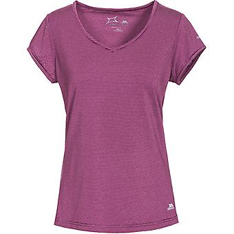 Intrusion Womens/dames Mirren court manchon Fitness sèche rapide T-Shirts