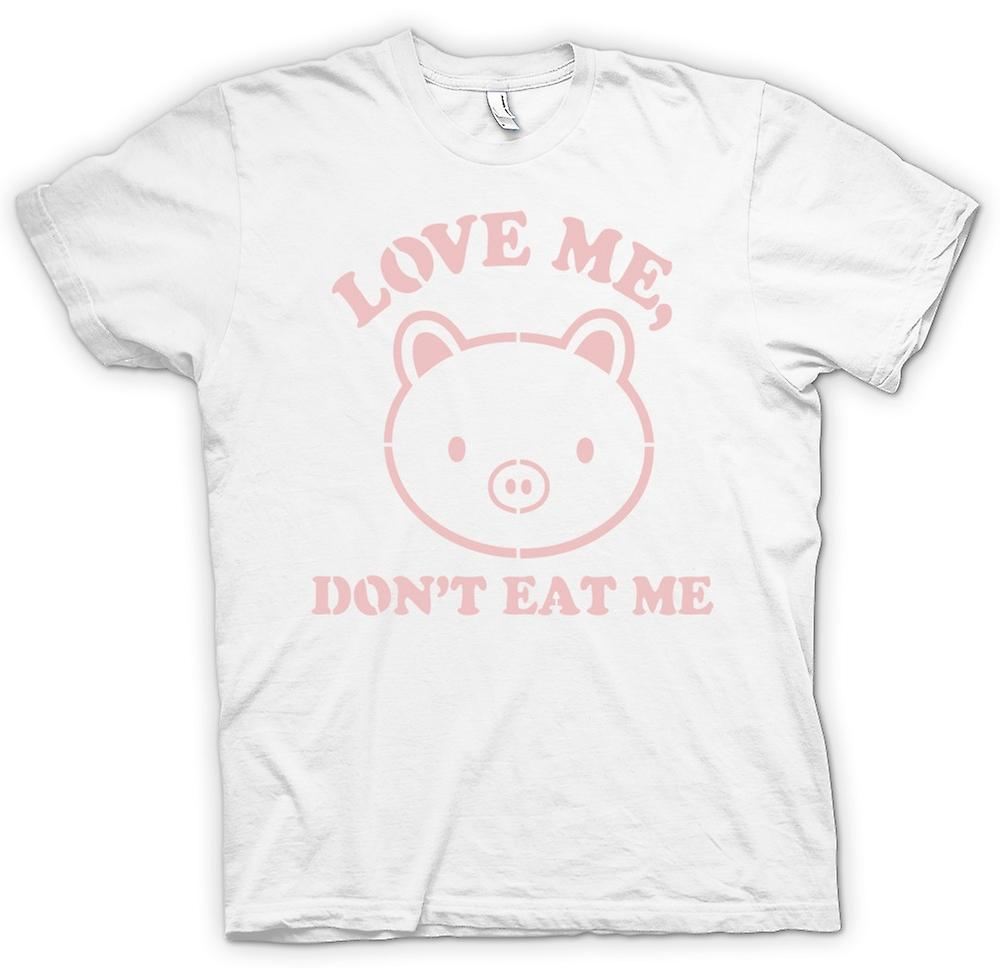 Womens T-shirt - Love Me, Don�t Eat Me - Funny