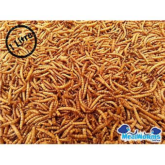 1 Litre Dried Mealworms For Poultry