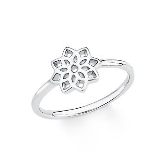 s.Oliver jewel ladies ring silver cubic zirconia white as PURE flower 201722