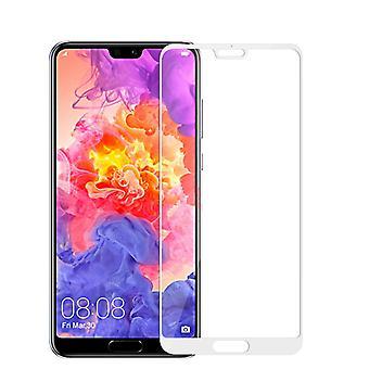 For Huawei honor 10 0.3 mm H9 2.5 d hærdet glas hvid beskyttende folie dække nye