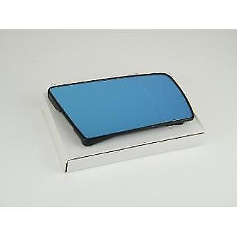 Right Blue Mirror Glass (heated) & Holder for Mercedes E-CLASS Estate 1996-1999